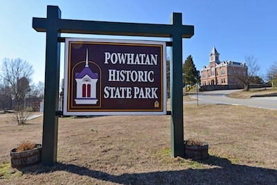 Powhatan Historic State Park June and July events