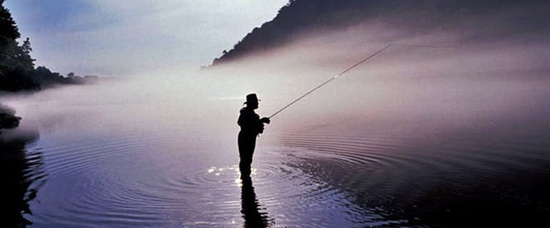 Fog Fishing in Arkansas