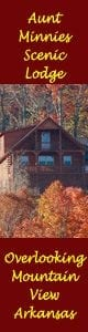 Aunt Minnie's Lodge Mountain View Arkansas