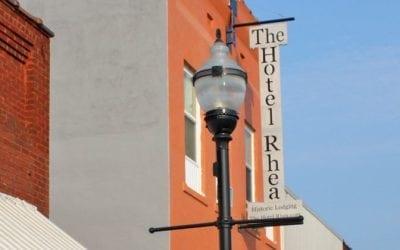 Hotel Rhea offers a taste of luxury in the heart of Walnut Ridge