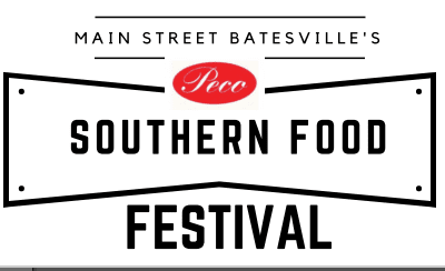 Welcome to Batesville's Southern Food Festival June 24th!  A Festive Feast Time!