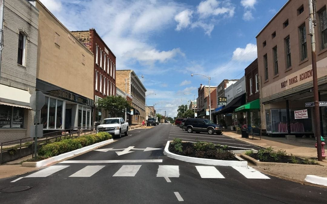Beautiful Revitalized Downtown Batesville Changes and Additions For a Perfect Downtown Experience For All!