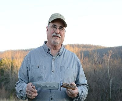 "Jim Crowell will teach  ""Knife Making"" June 8th- 10th at the Arkansas Craft School"