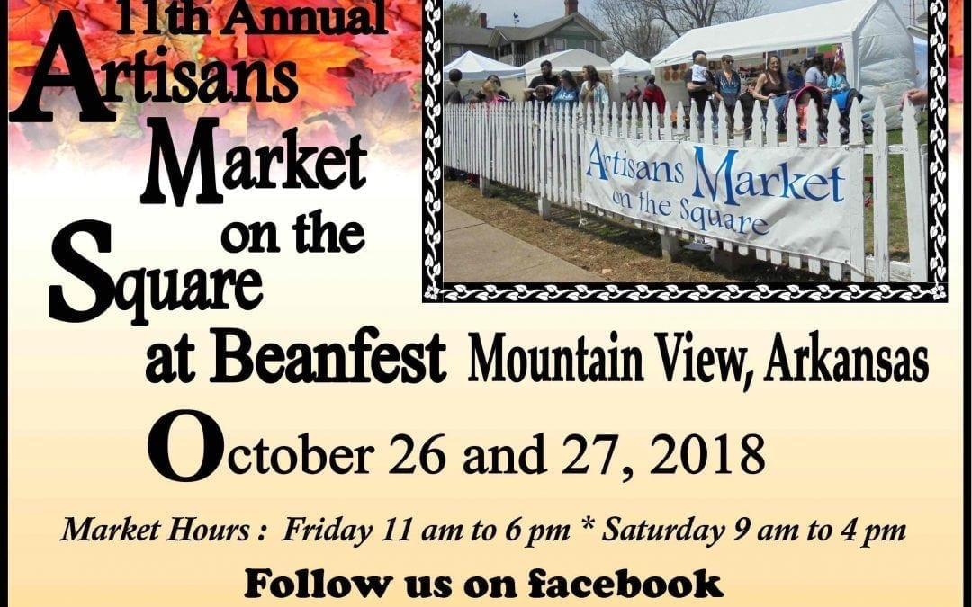 Artisans Market on the Square during Bean Fest in Mountain View, Oct. 26 and 27