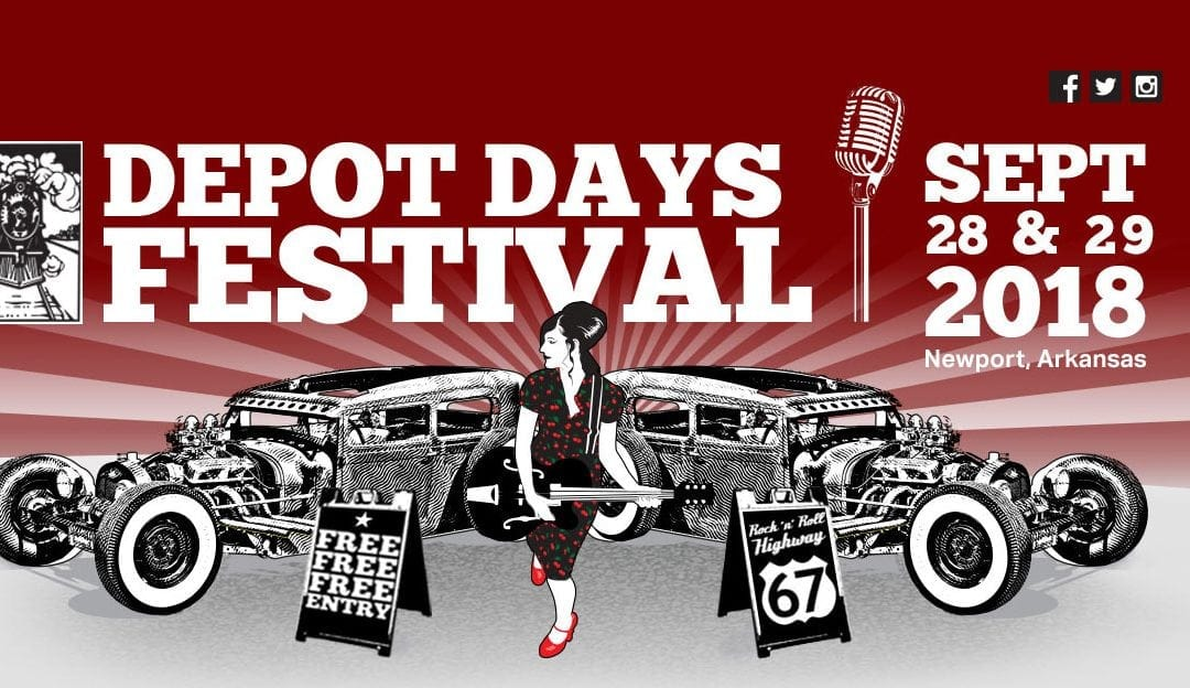 Depot Days Festival 2018 – Newport, Arkansas