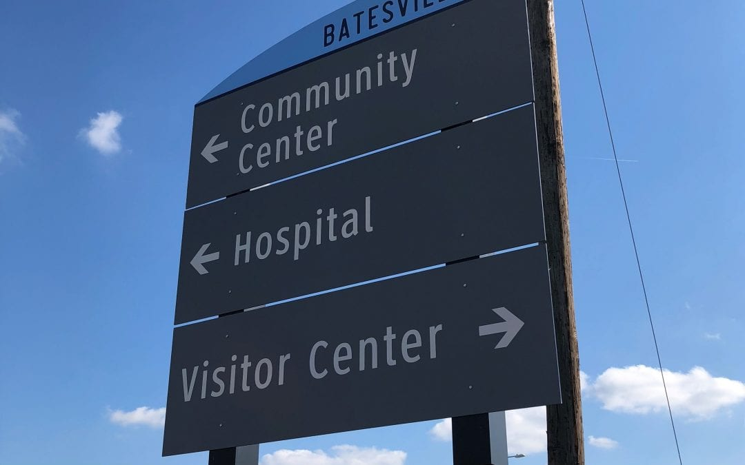Phase 1 of Batesville sign program complete