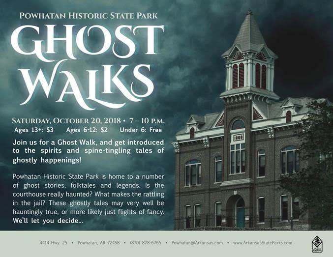 Powhatan sets 'Ghost Walks'