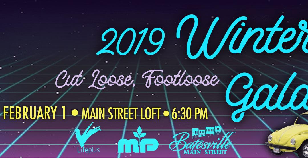 The 2019 Main Street Batesville (MSB) Winter Gala will be held on Friday, February 1