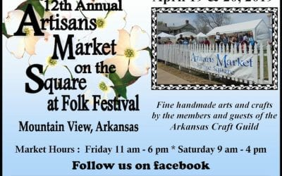 12th Annual Artisans Market on the Square Scheduled April 19 and 20