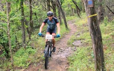 Hammer Down on the Syllamo Bike Trail