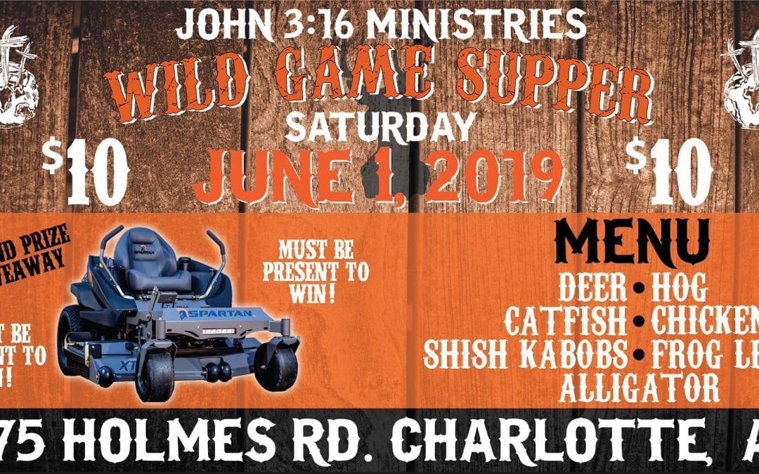 John 3:16 Ministries sets 'wildly' popular supper