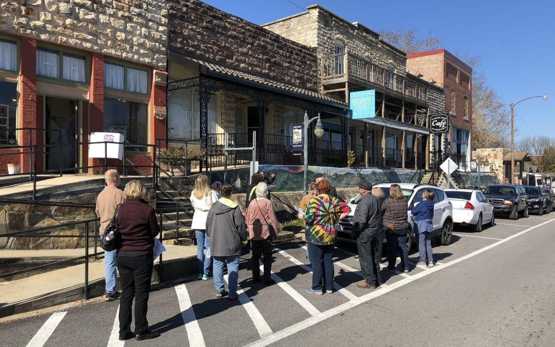 HISTORIC WALKING TOUR COMES TO CALICO ROCK