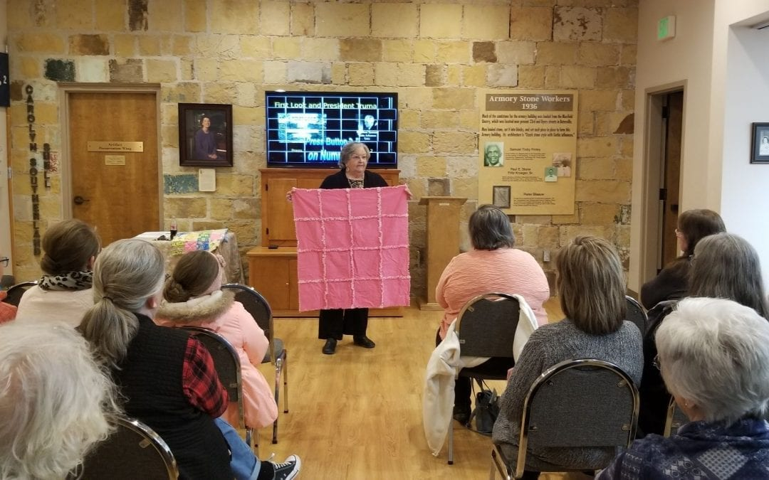 New Quilting, Sewing, and Crafting Group to Meet at Old Independence Regional Museum