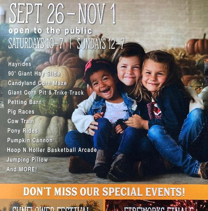 Jackson Farm in Black Rock Arkansas Schedules Fall Festival
