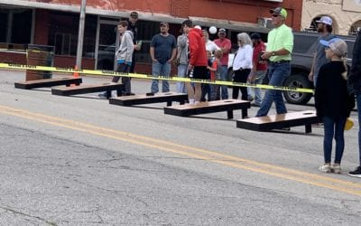 LakeView Car Rentals and AllSteel will provide $600 added money for the Fulton County Fair Corn Hole Tournament scheduled for July 30th in the Fairgrounds Arena